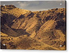 Chupadera Mountains Acrylic Print