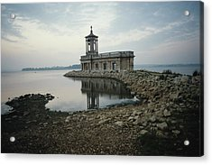 Church By The Water Acrylic Print