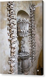 Acrylic Print featuring the photograph Church Of Bones by Mark Duehmig