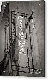 Cinéma De Quartier Acrylic Print