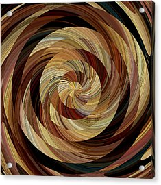 Cinnamon Roll Acrylic Print