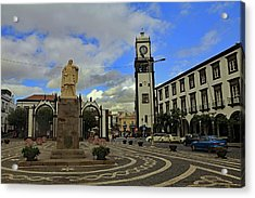 Acrylic Print featuring the photograph City Gate  by Tony Murtagh