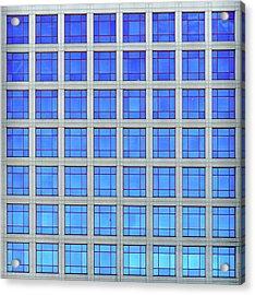 City Grids 60 Acrylic Print