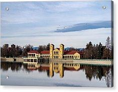 City Park Pavillon Acrylic Print
