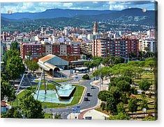 Cityscape In Reus, Spain Acrylic Print