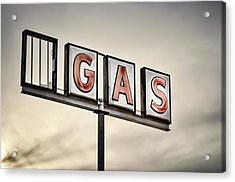 Classic Americana Route 66 Abandoned Acrylic Print