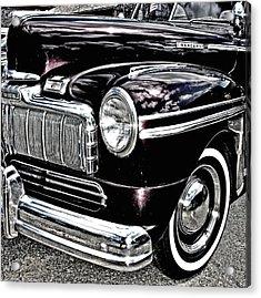 Classic Mercury Acrylic Print