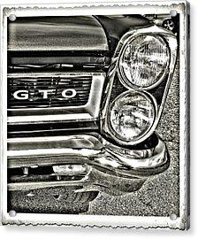 Classic Pontiac Acrylic Print