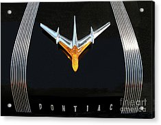 Classic Pontiac Hood Ornament Acrylic Print