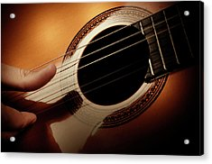 Classical Guitar Acrylic Print