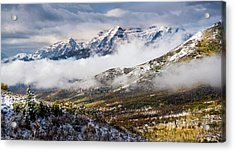 Acrylic Print featuring the photograph Clearing Storm by TL Mair