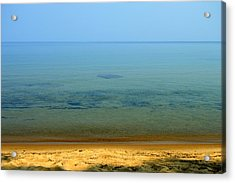 Clearness Of Lake Superior Acrylic Print