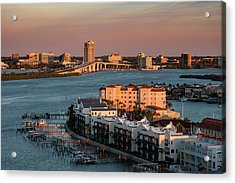Clearwater Evening Acrylic Print