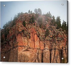 Cliff Face Hz Acrylic Print