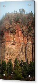 Cliff Face Acrylic Print