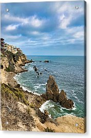 Cliffs Of Corona Del  Mar Acrylic Print