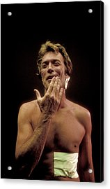 Clint Eastwood Acrylic Print by Bill Eppridge