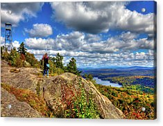 Acrylic Print featuring the photograph Close To Heaven On Earth by David Patterson