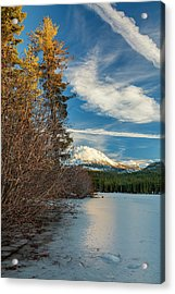 Closed For The Winter Acrylic Print