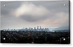 Cloud On Vancouver  Acrylic Print