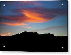 Cloud Over Mt. Boney Acrylic Print