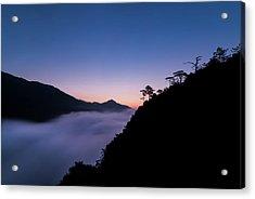 Cloud River Twilight Acrylic Print