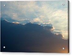 Acrylic Print featuring the photograph Cloud-scape 1 by Stewart Marsden