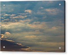Acrylic Print featuring the photograph Cloud-scape 2 by Stewart Marsden