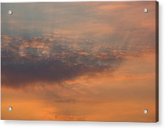 Acrylic Print featuring the photograph Cloud-scape 4 by Stewart Marsden