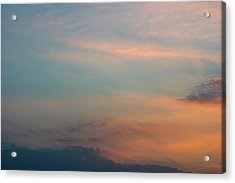 Acrylic Print featuring the photograph Cloud-scape 7 by Stewart Marsden