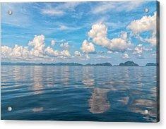 Clouded Bliss Acrylic Print