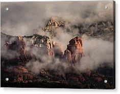 Clouds Over Sedona 2 Acrylic Print