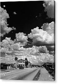 Clouds Over Seligman Acrylic Print