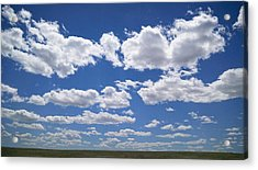 Clouds, Part 1 Acrylic Print