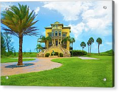Acrylic Print featuring the photograph Coastal Living by John M Bailey