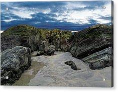 Coastline Castle Acrylic Print