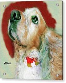 Cocker Spaniel Painting Acrylic Print