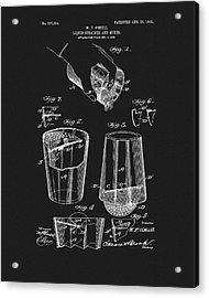 Cocktail Mixer Patent Acrylic Print