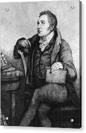 Coleridge Acrylic Print by Hulton Archive