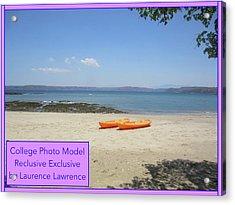 College Photo Model Bn Acrylic Print