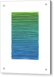 Color And Lines 5 Acrylic Print