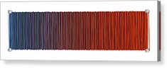 Color And Lines 6 Acrylic Print