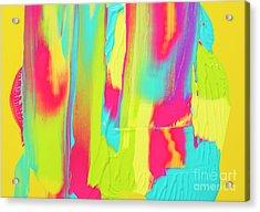Color Ink Acrylic Print by Yagi Studio