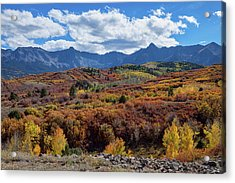 Acrylic Print featuring the photograph Colorado Color Lalapalooza by James BO Insogna