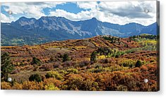 Acrylic Print featuring the photograph Colorado Painted Landscape Panorama Pt1 by James BO Insogna