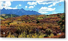 Acrylic Print featuring the photograph Colorado Painted Landscape Panorama Pt2 by James BO Insogna