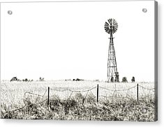 Acrylic Print featuring the photograph Colorado Windmill by Andy Crawford