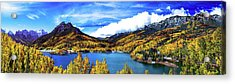 Colorados Finest Autumn Day Acrylic Print