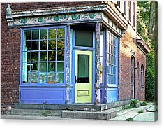 Colorful Corner Acrylic Print