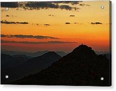 Evening At Mount Evans Acrylic Print